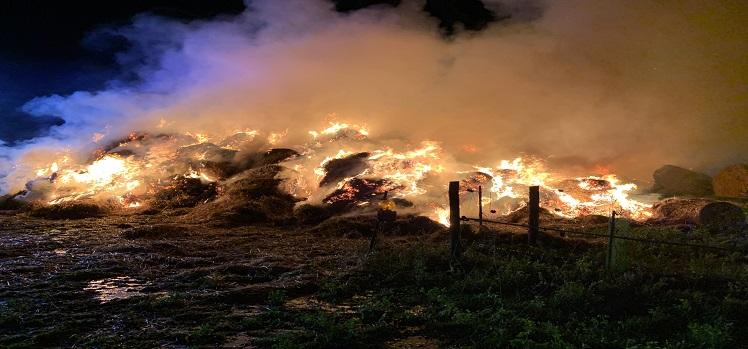 Erneuter Brand in Aderklaa