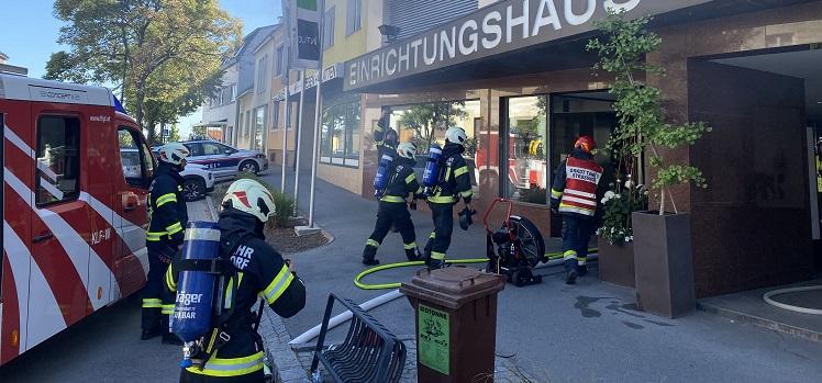 Brandeinsatz in Gänserndorf