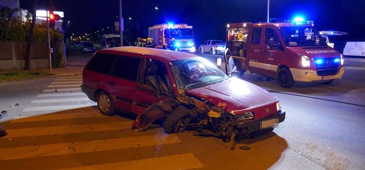 Verkehrsunfall mit einem Verletzten